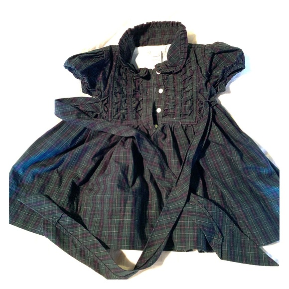 Ralph Lauren Other - Baby girl Ralph Lauren plaid dress
